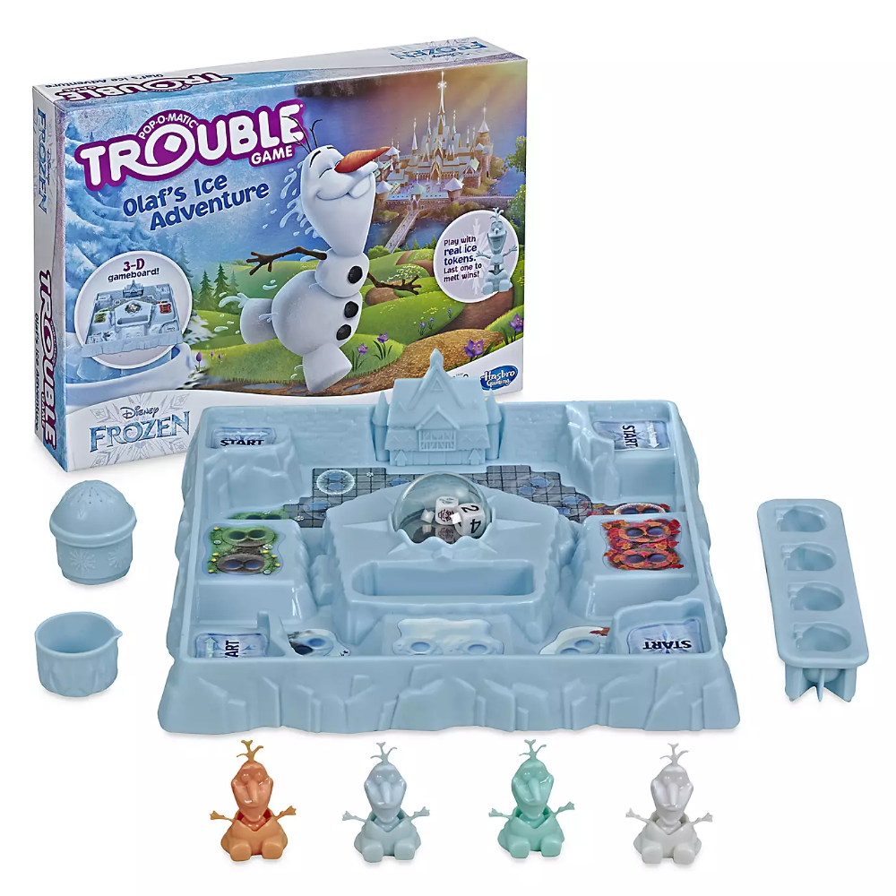 Olaf's Ice Adventure Trouble Game Frozen shopDisney in