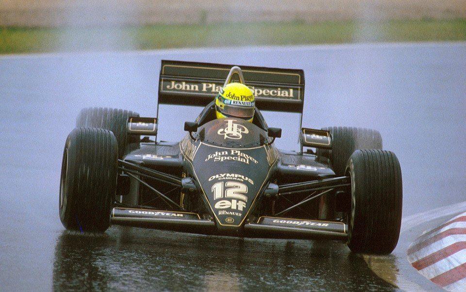 SennaJPS Lotus Olympus 97T1985 Ayrton senna, Race car