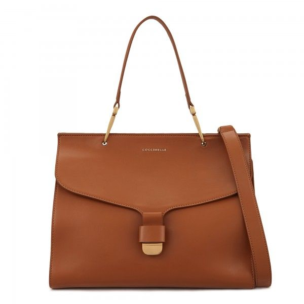 Coccinelle top handle in leather - Coccinelle Bags