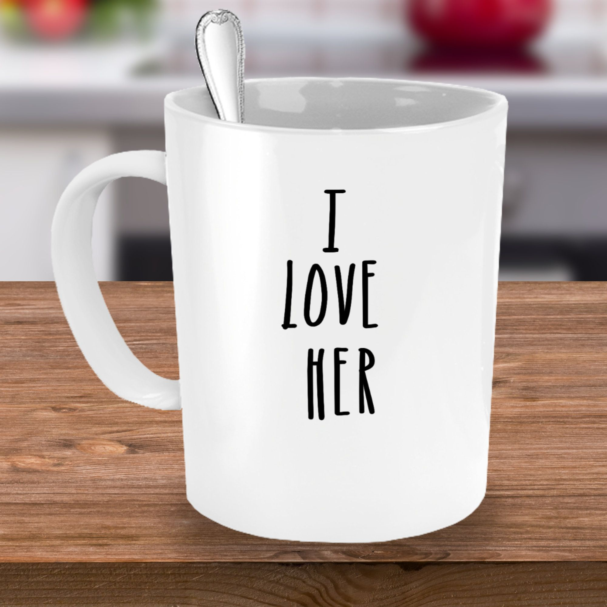 Personalized mug gift for her valentines day mug for