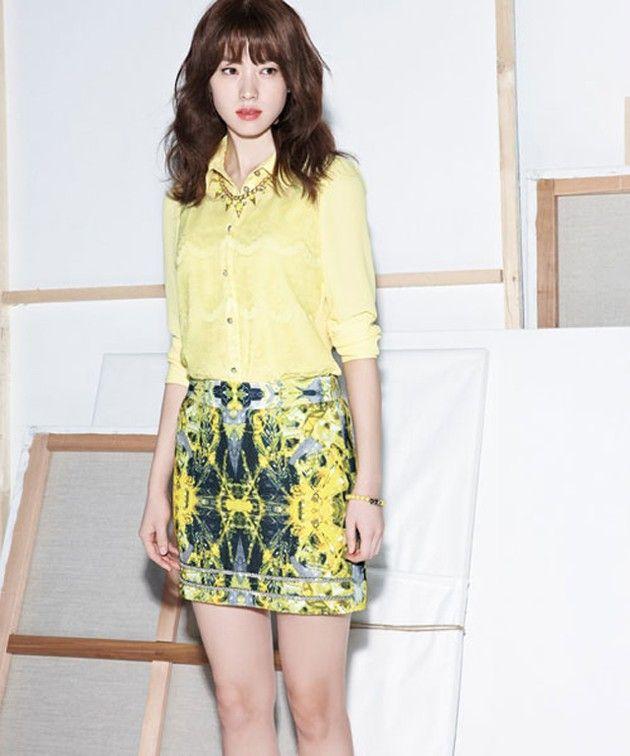 Foto Han Hyo Joo Di Katalog Fashion Viki S Edisi Musim Semi 2013