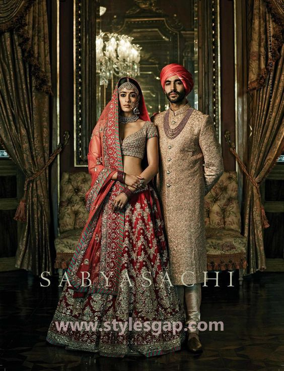 9f83563cb787 Sabyasachi Mukherjee Latest Wedding Dresses 2018-2019 Collection ...