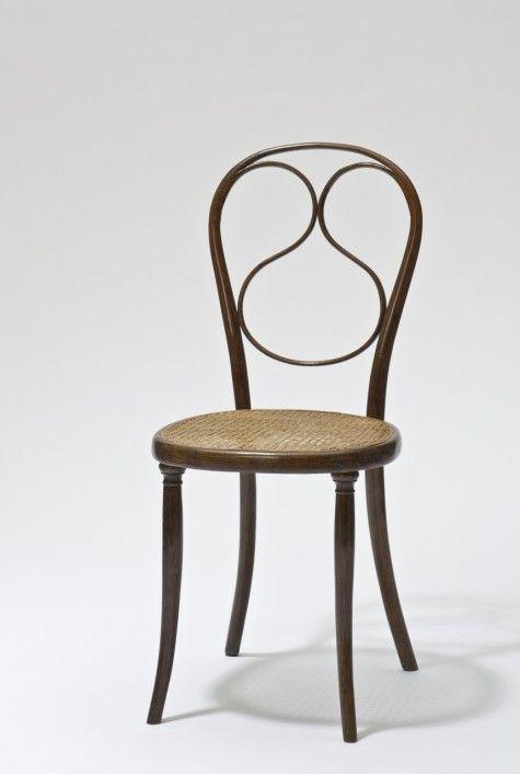 Thonet Sessel Nr. 1. Vorbild Für Dieses Modell Sind Die Sessel Für Das  Palais