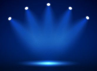 Spotlight On Stage For Your Design