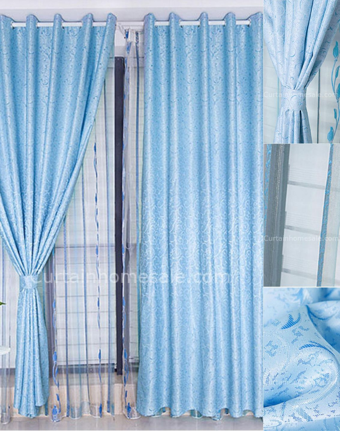 Pale blue curtains bedroom bedroom wall art ideas check more at