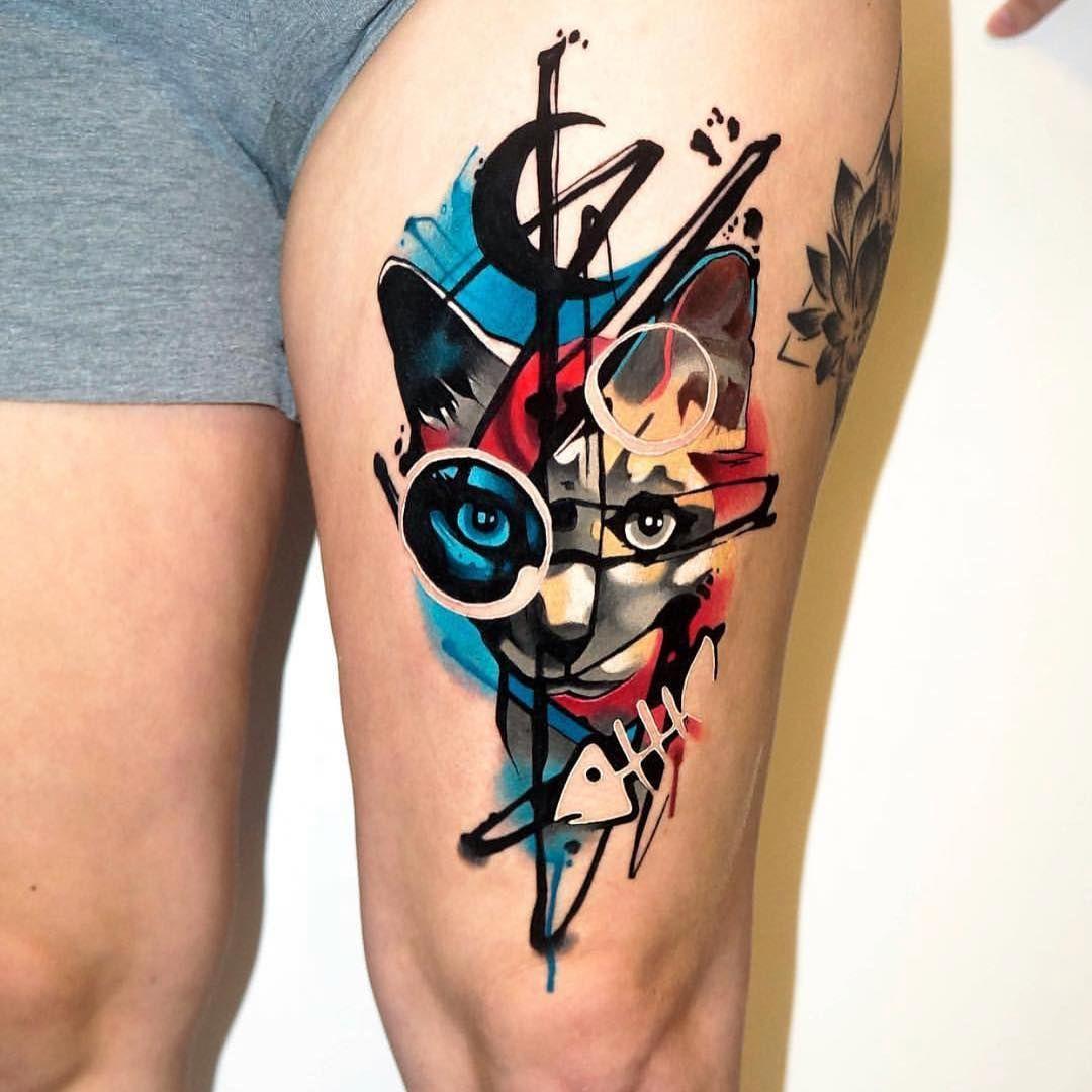 Dale Color A La Vida Tatuajes A Todo Color Minimalistas Y Con Mucho Encanto Encuentra Las Mejore Tatuajes Abstractos Tatuajes Romanticos Tatuajes Creativos