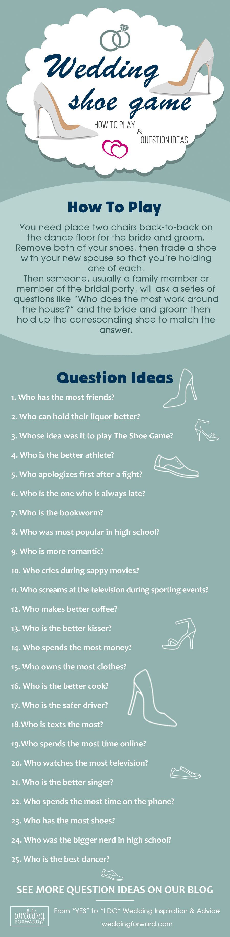 The Shoe Game - How To Play & 50 Question Ideas #shoegame