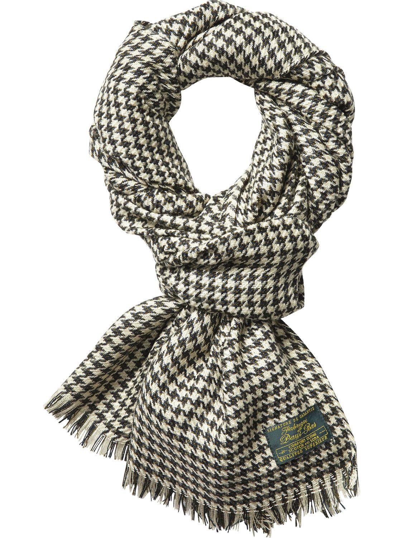 Schal aus grobem Webstoff | College-Schals | Herrenbekleidung von Scotch & Soda