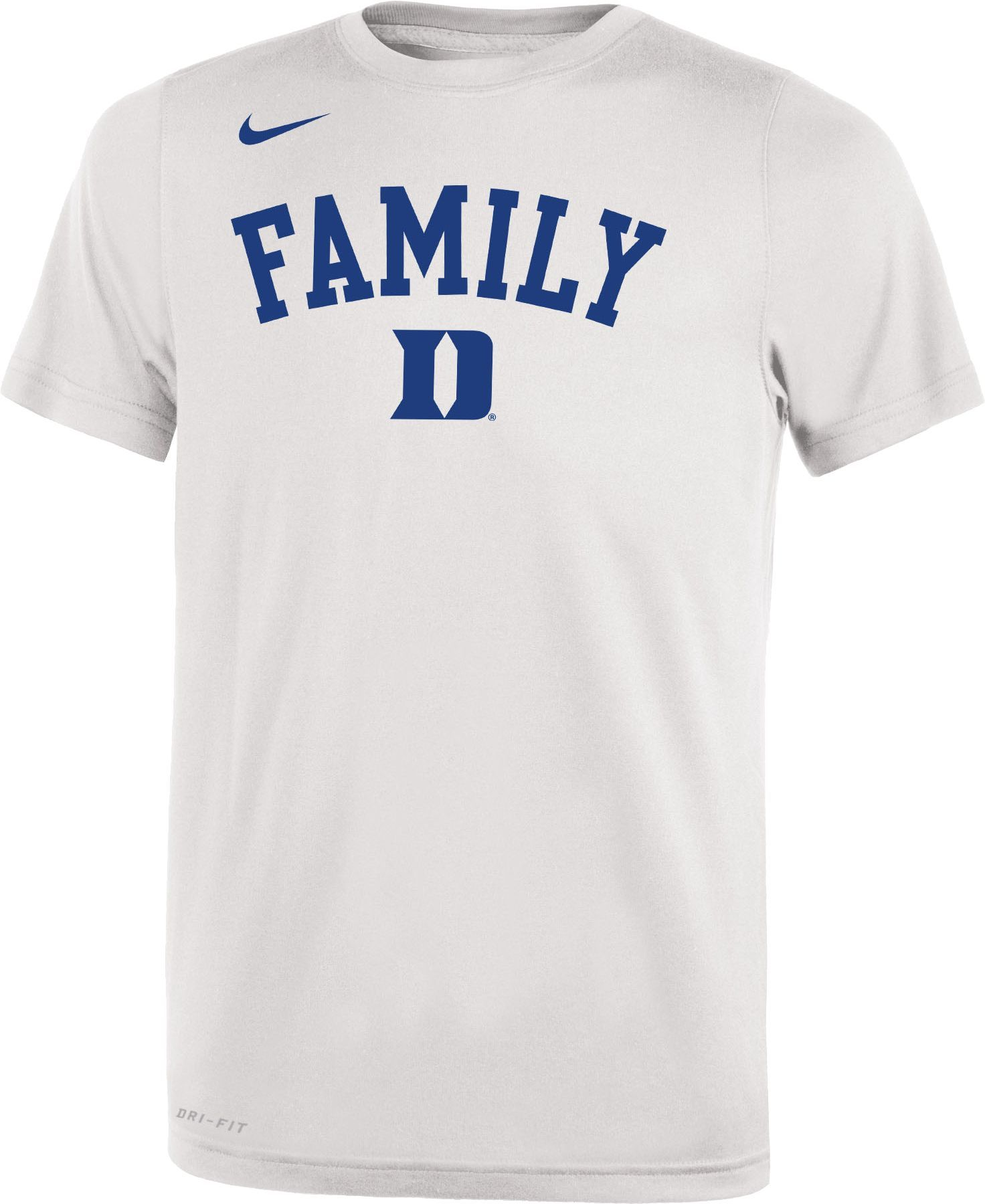 4c126829a Nike Youth Duke Blue Devils 'Family' Bench White T-Shirt in 2019 ...