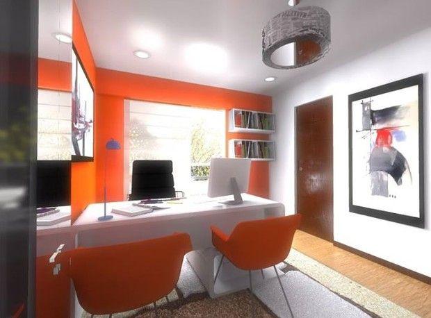cuarto de escritorio con ventanas grandes para una mejor iluminacin natural amplio cuarto con pisos