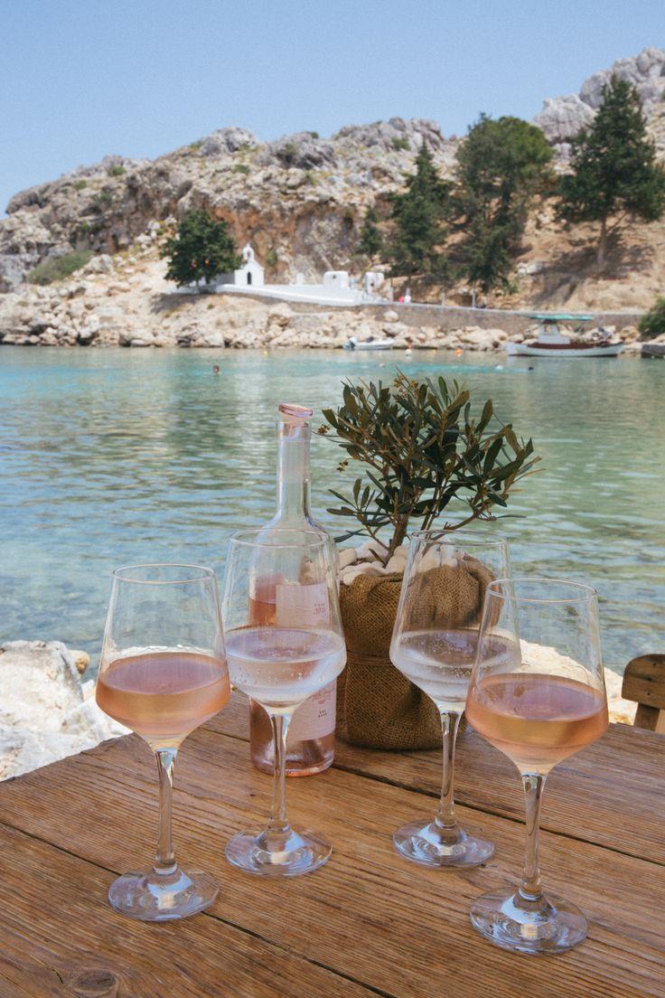 Sommerträume! Herrliches Strandcafé in Lindos, Rhodos, Griechenland #traveltogreece
