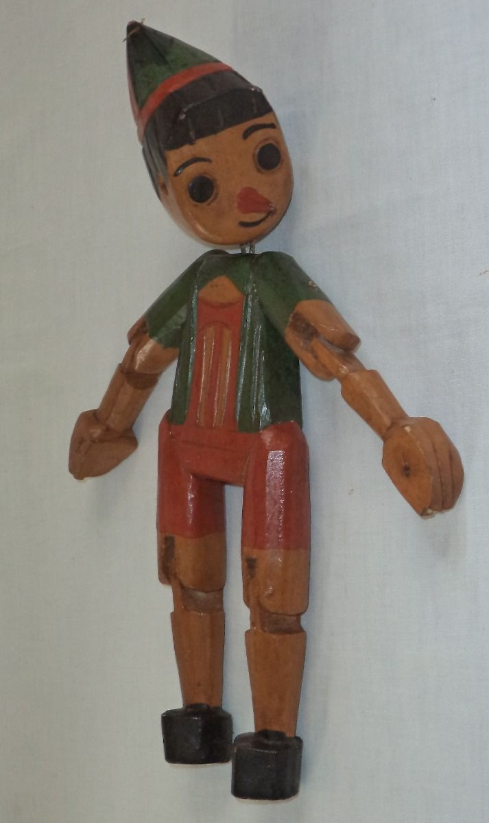 Buratino with their own hands, wooden doll master class Toys with their own hands, patterns, video, MK