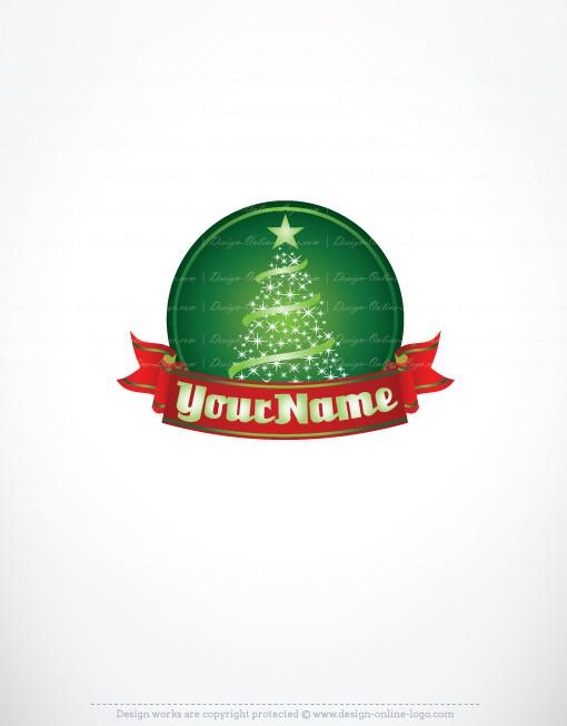 Exclusive Logos Store Christmas Tree Logo Christmas Tree Logo Business Logo Branding Tree Logos
