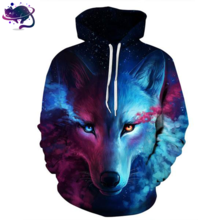 Space Wolf Hoodie