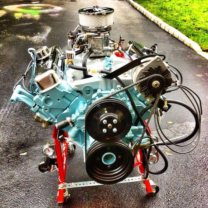 Pontiac Firebird 1997 Remanufactured Engine: Image 1 Of 15: 1968 Pontiac Firebird 350 Engine