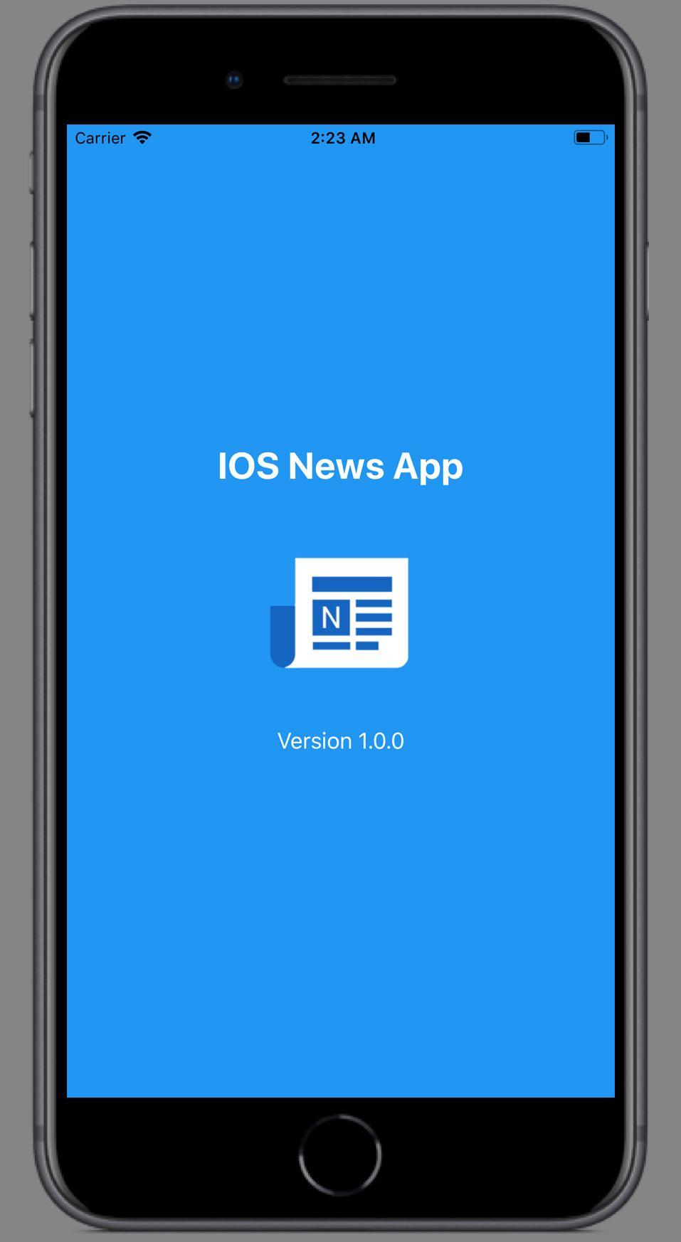IOS News App