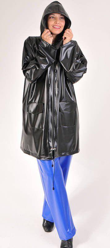 pingl par claude sur pvc raincoat pinterest vinyles cire et femmes. Black Bedroom Furniture Sets. Home Design Ideas