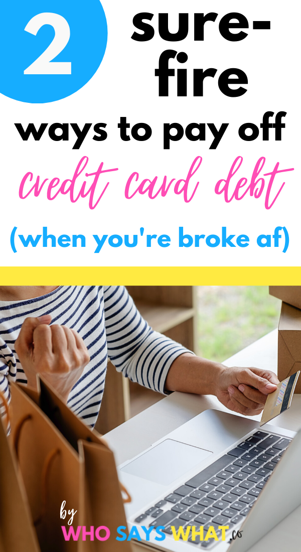 How To Pay Off Credit Card Debt Fast Who Says What In 2020 Paying Off Credit Cards Transfer Credit Card Debt Credit Cards Debt