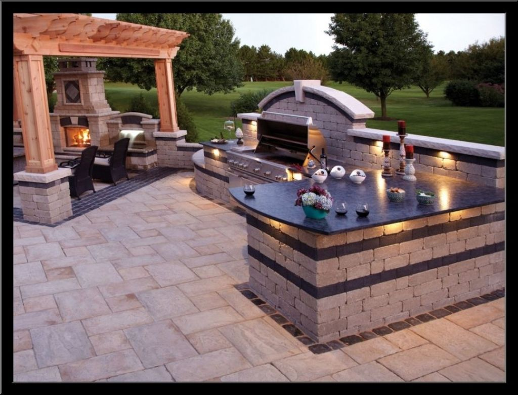 28 Genius Ways How to Makeover Backyard Barbecue Design Ideas