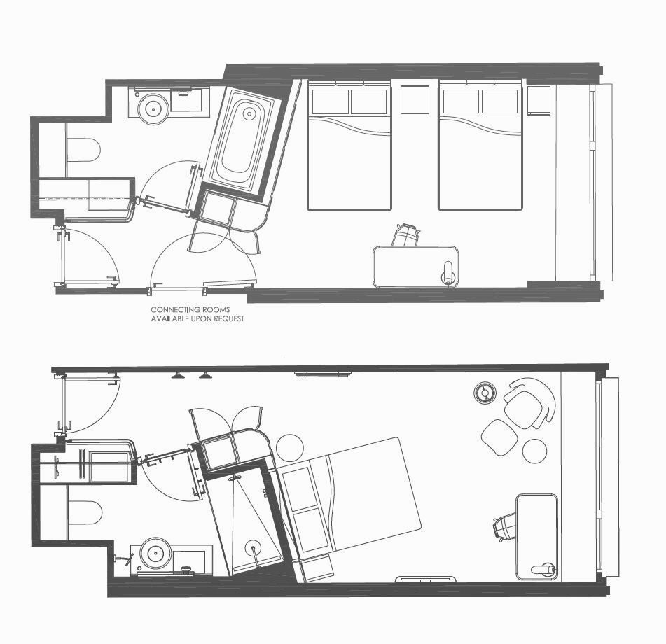 Layout Mondrian London Now Sea Containers H In 2020 Hotel Room Design Plan Hotel Room Plan Hotel Floor Plan