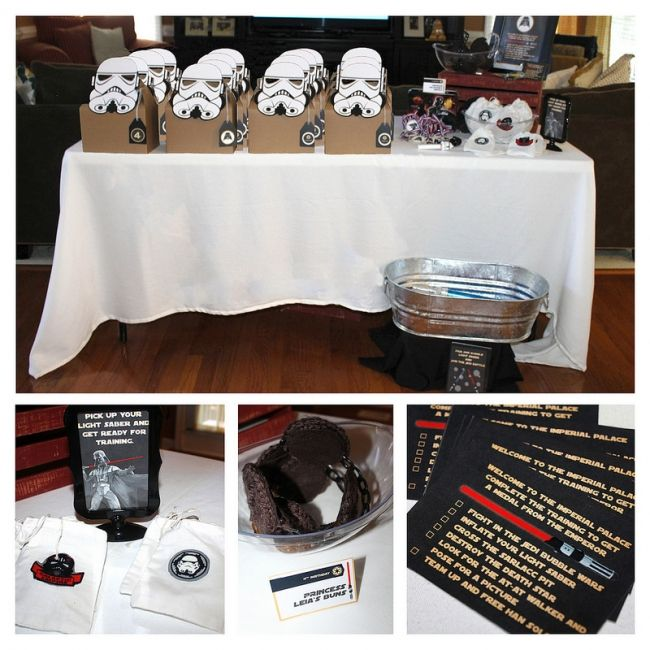 Boys Star Wars Birthday Party Favour Ideas Samuels and Martin