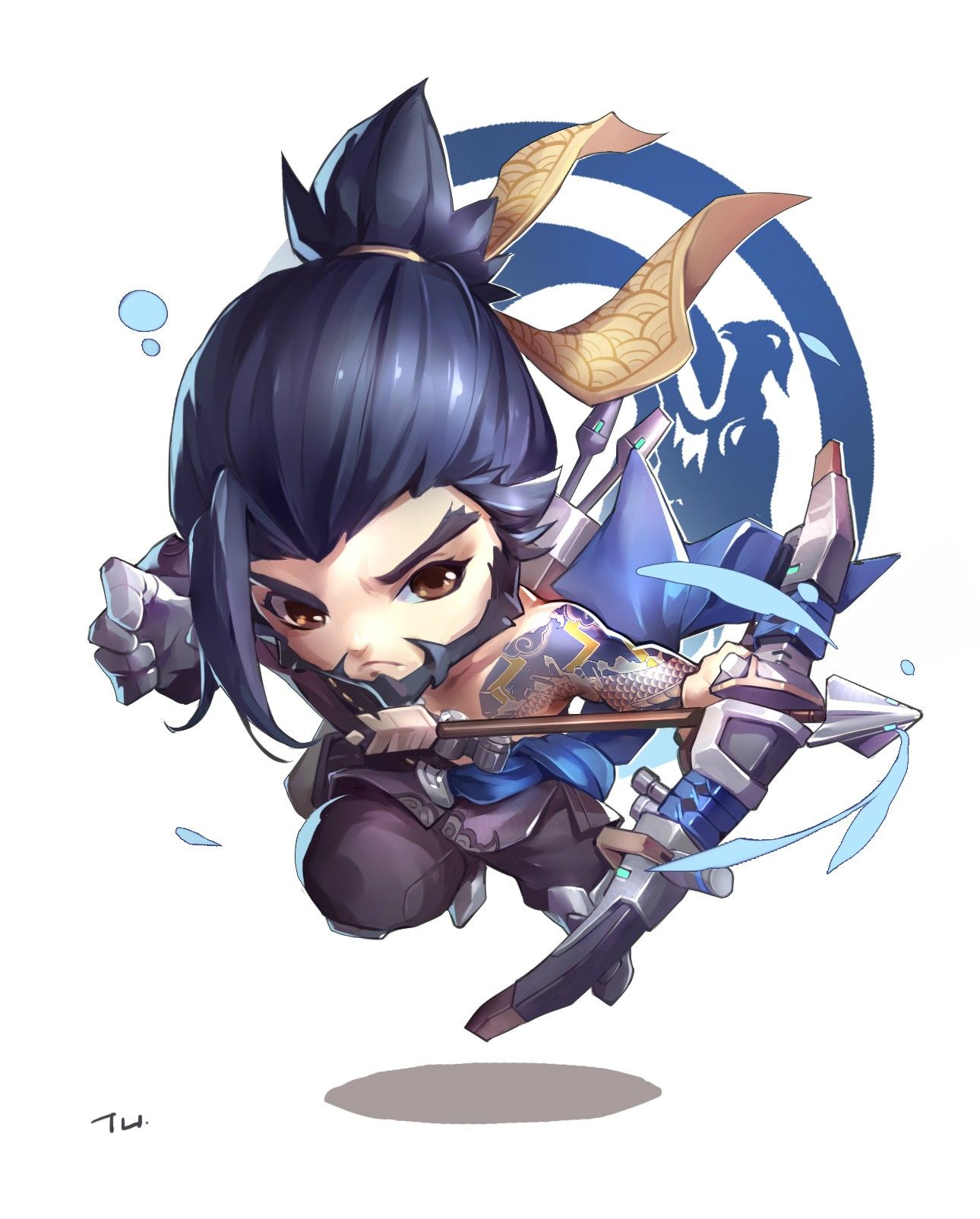 Hanzo Wallpaper: Pin By Leena On Overwatch