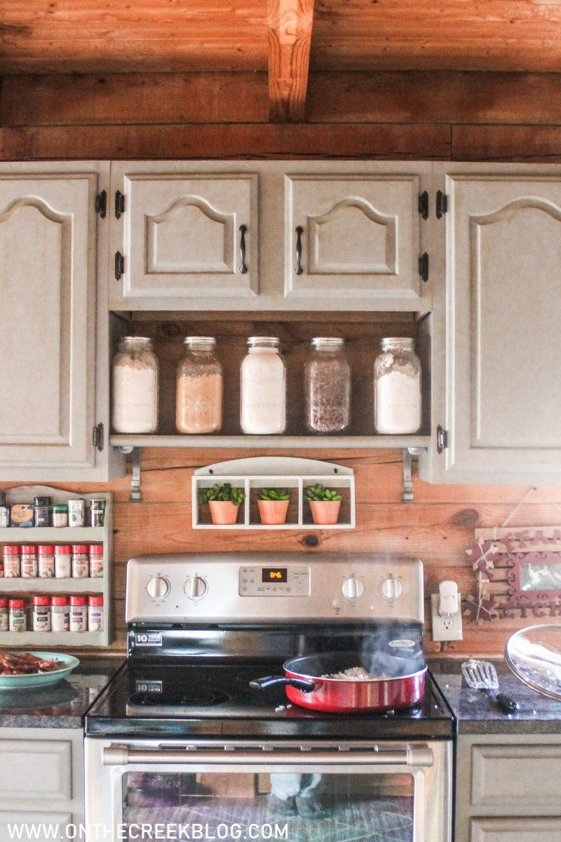 Diy Spice Shelf In 2020 Spice Shelf Diy Spices Kitchen Oven