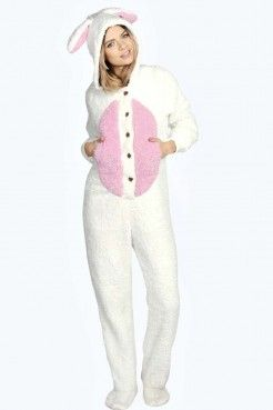 e804e2917b3d Cici Supersoft Fluffy Bunny Onesie