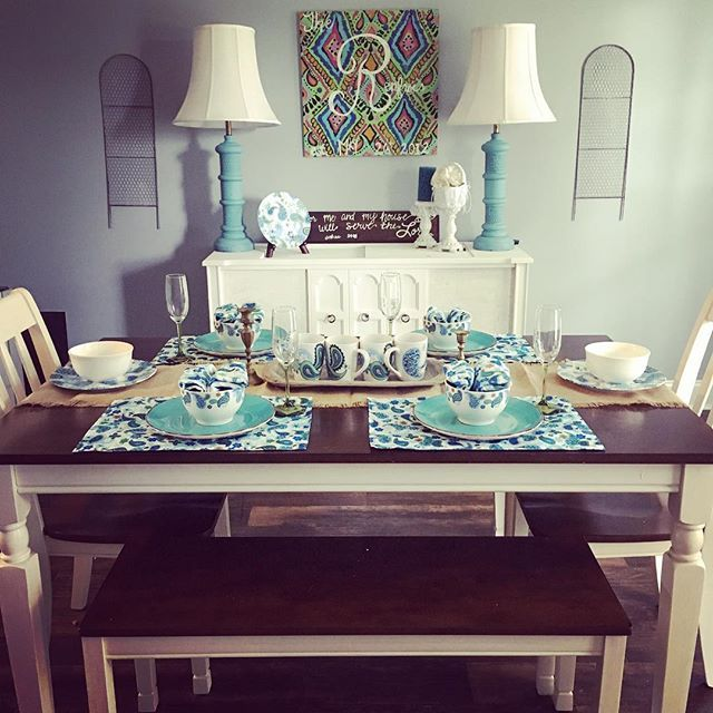 Home Staging Dining Room Table: Whitesburg Dining Room Table By Ashley HomeStore, Brown