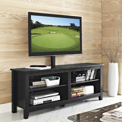 Union Rustic Saunders 58 Tv Stand Color Black Products Tv