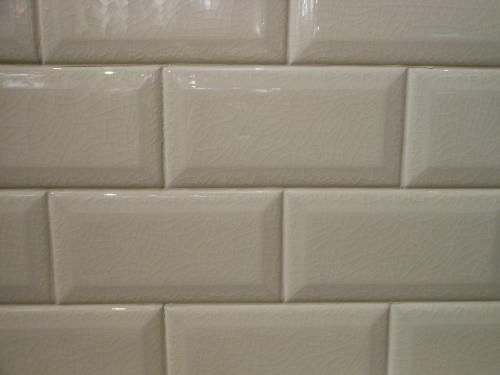 3x6 Beveled Crackled Subway Tile Adex Hampton Bone Biscuit With Images Crackle Tile Tile Backsplash Subway Tile