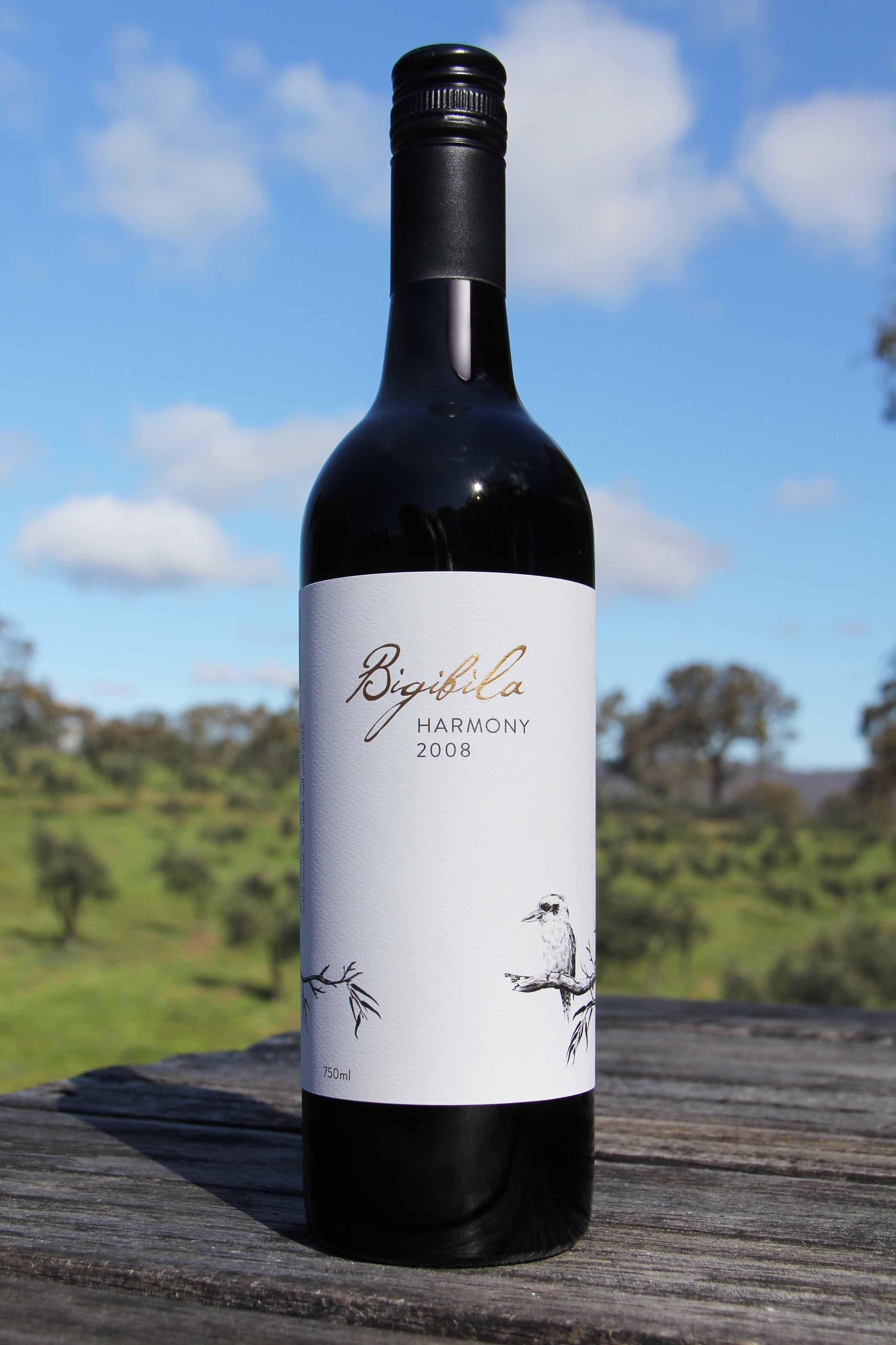 Bigibila Harmony. A beautifully harmonious blend of four red wine varieties. www.bigibila.com #kookaburra #harmony