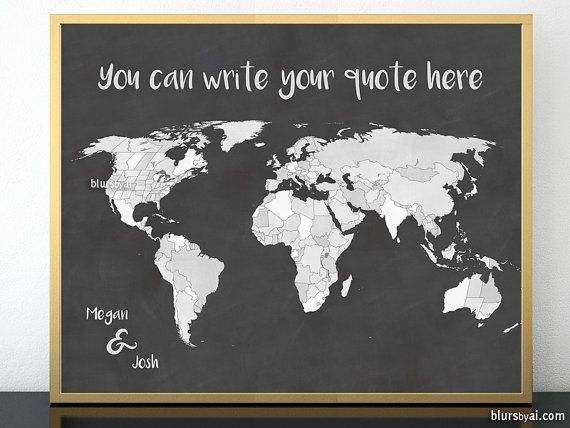 Do it yourself map template for word diy travel art last minute do it yourself map template for word diy travel art last minute gift chalkboard map printable world map map for couple map137 026 solutioingenieria Images