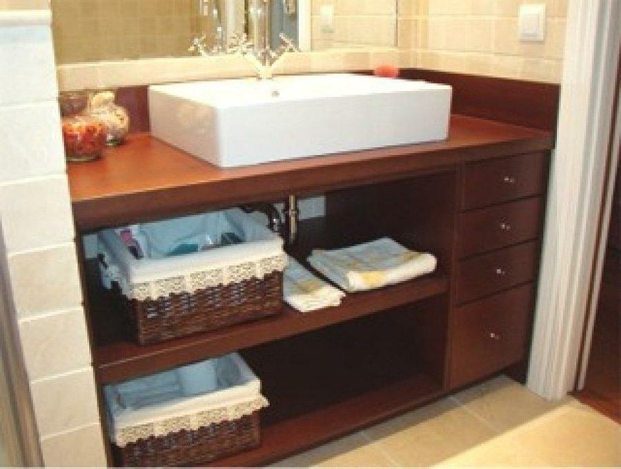 Resultado de imagen para muebles vanitorios rusticos for Muebles bano rusticos ikea
