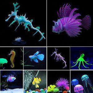 a nuevo artificial glow mar dragon caballito de mar medusa acuarios