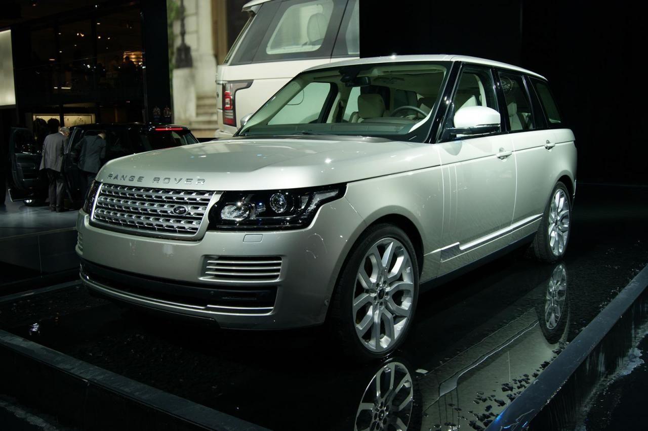 Достопримечательный 2013 Land Rover Range Rover