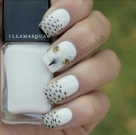 Illamasqua owl nails (pic only)
