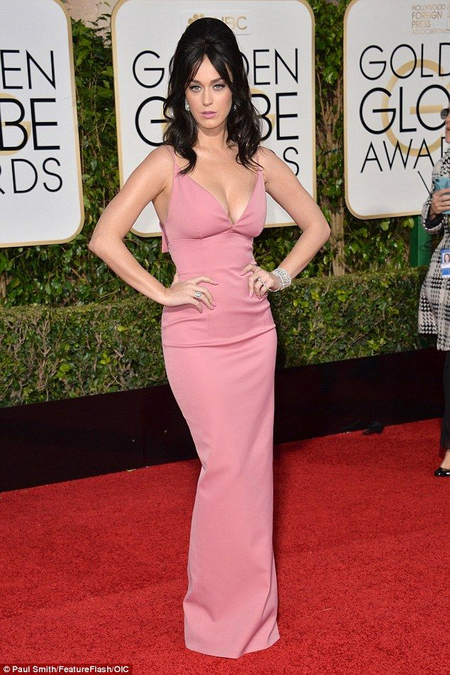 Remember Bumpits? Katy Perry wore one to the Golden Globes