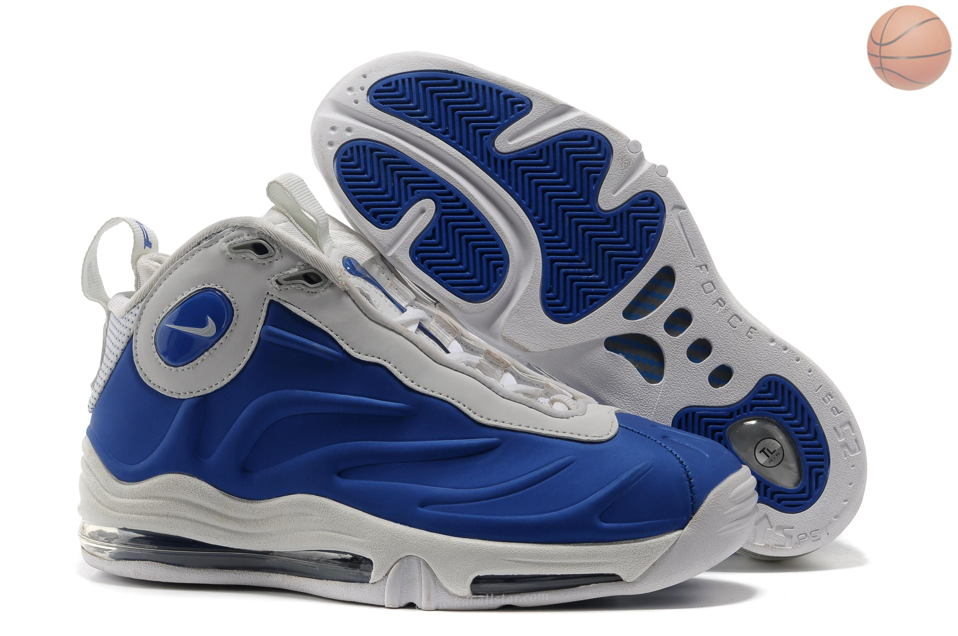 Nike Total Air Foamposite Max Mens Royal White Sports Shoes