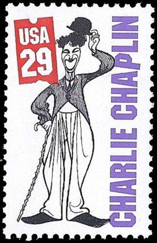 Charlie Chaplin USA Stamp