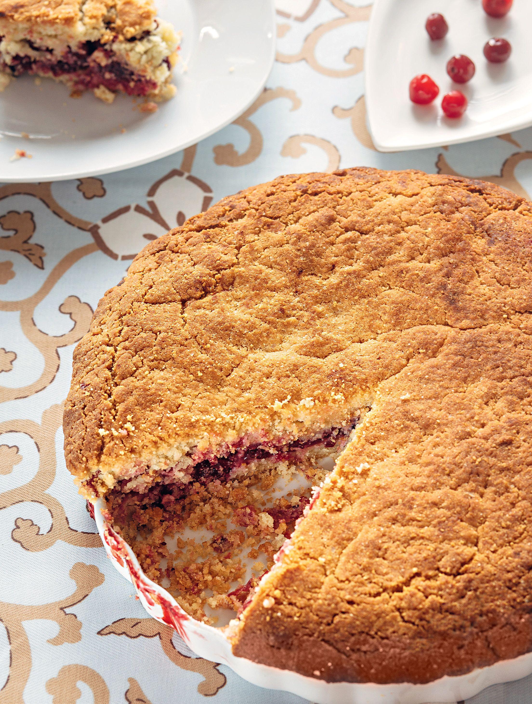 клюквенный пирог рецепт с фото предметы одежды аксессуары