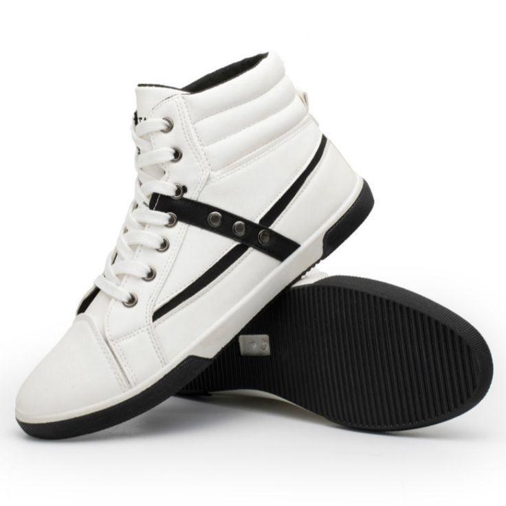 Frühling Herbst neue Männer Schuhe Größe High Top Mode
