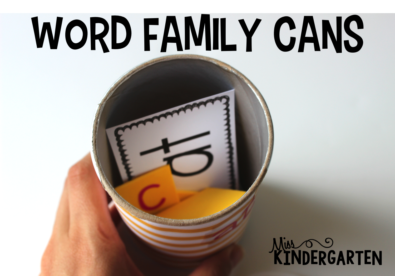 Create2educate Word Family Cans
