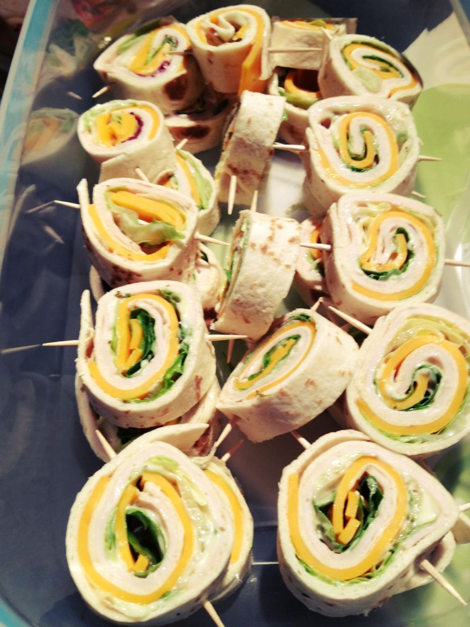 Canapés Wraps Mini Wraps Apetizer Homemade To Go With The Finger Foods