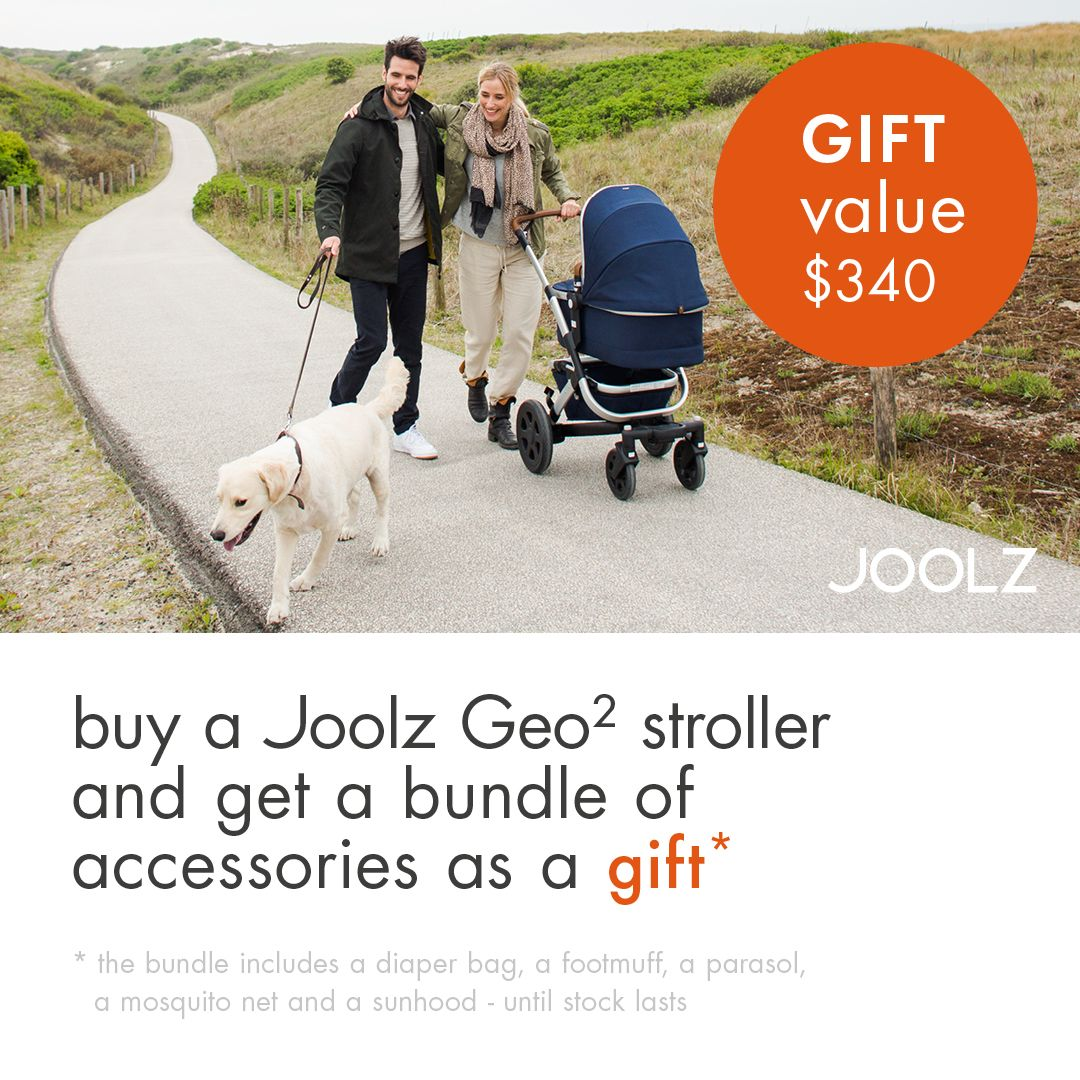 Make it a bundle with Joolz Winter Specials! Joolz Geo2