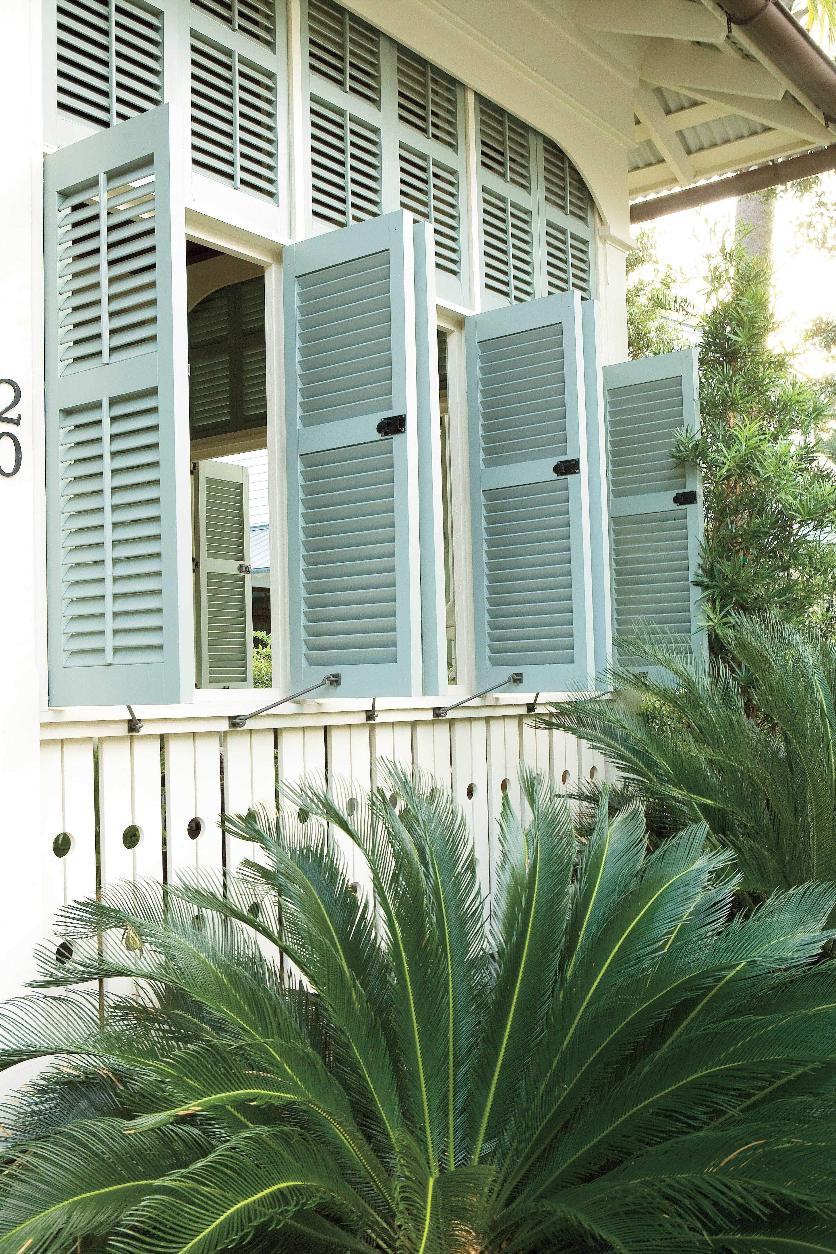 Nautical Coastal Home Decor: Natural Air Circulation   Fripp Cottage ...
