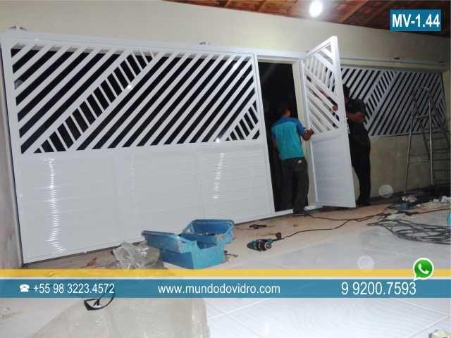 Portao Aluminio Em Sao Luis Ma Branco Jpg 640 480 Portao De