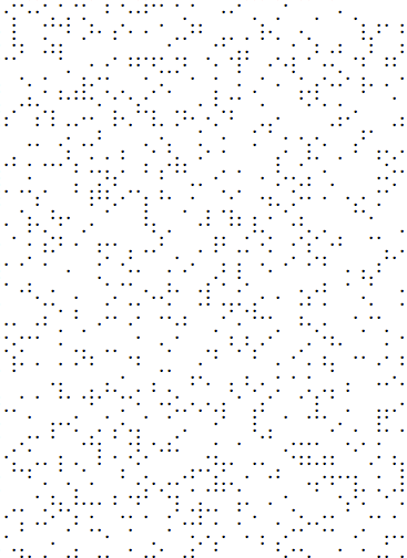 Random Dot Generator Dots Symbols Generation