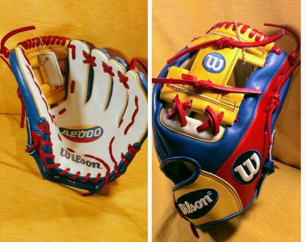 New Wilson A2000 Wbc 2017 Team Venezuela 1786 Baseball Glove 11 5 Ebay Link