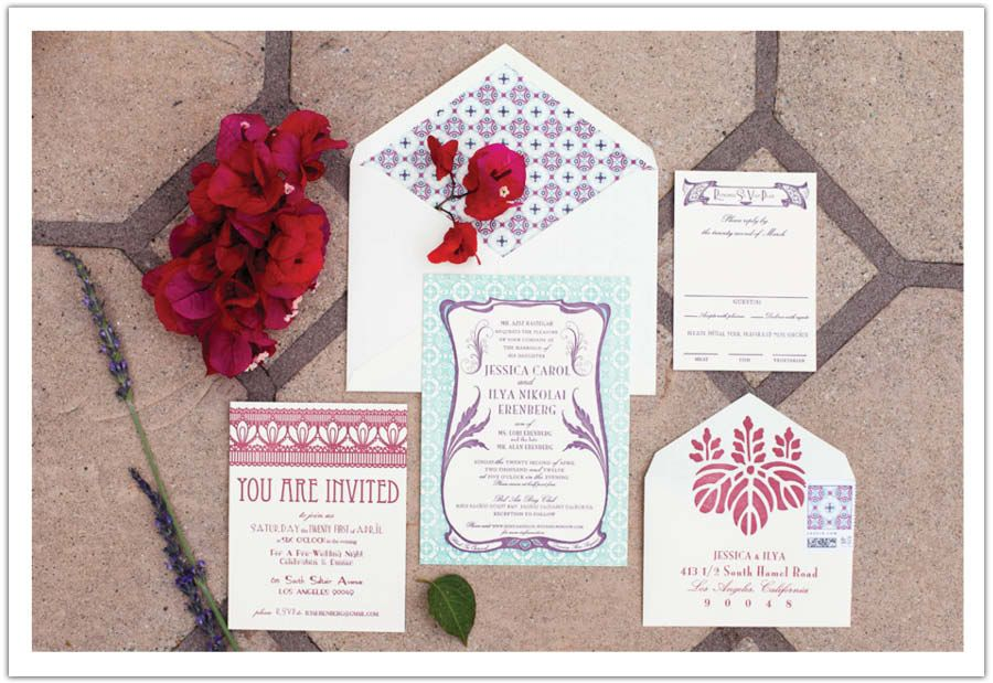 Persian Old Hollywood Inspired Wedding